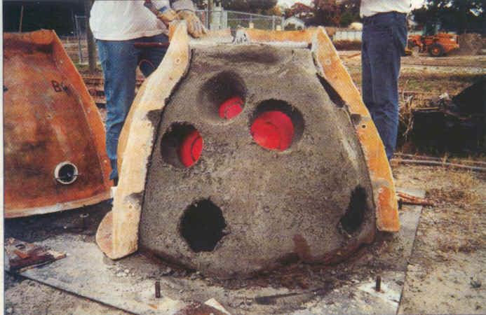 Ball Mold For Concrete Reef Ball Molds And Demolding